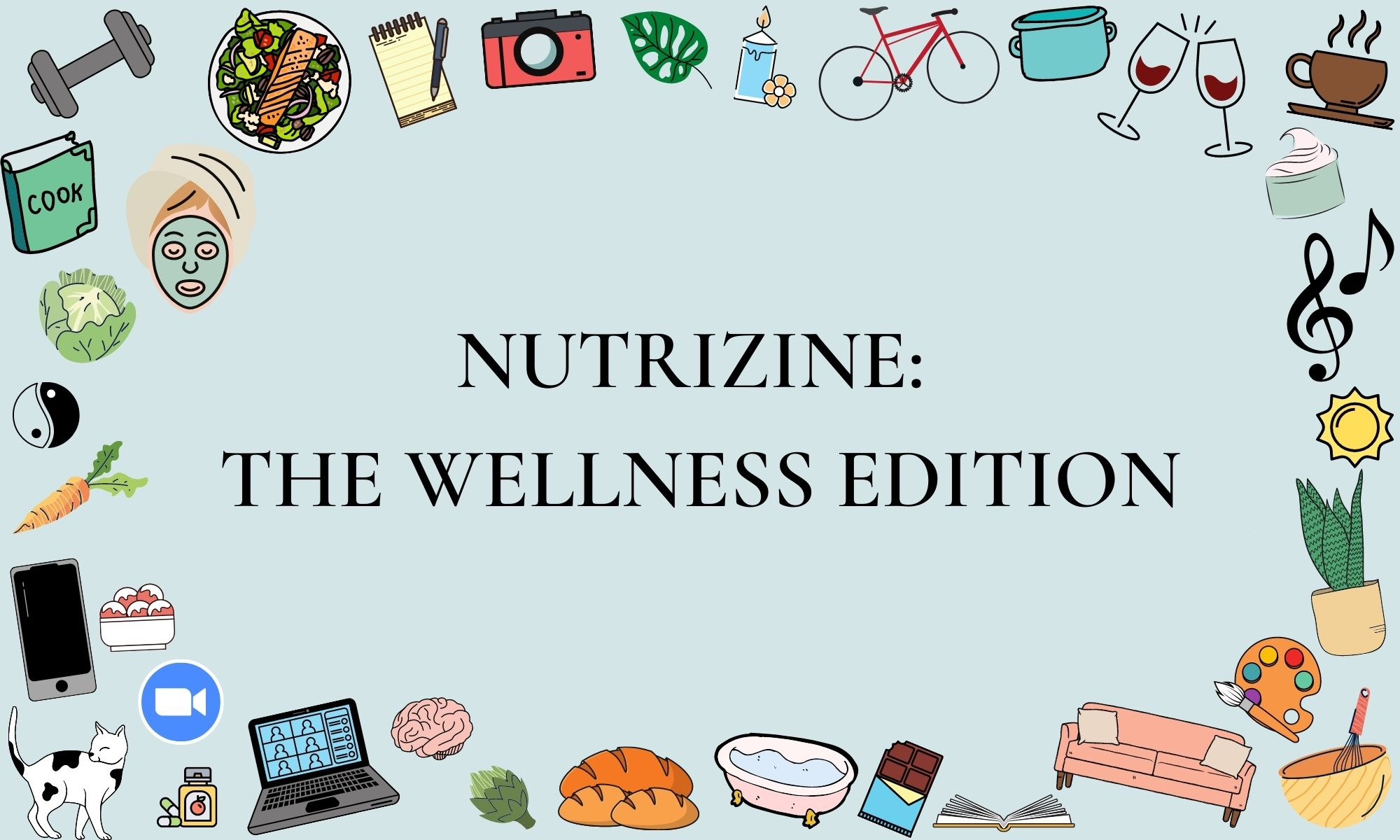 Photo of title page of wellness edition