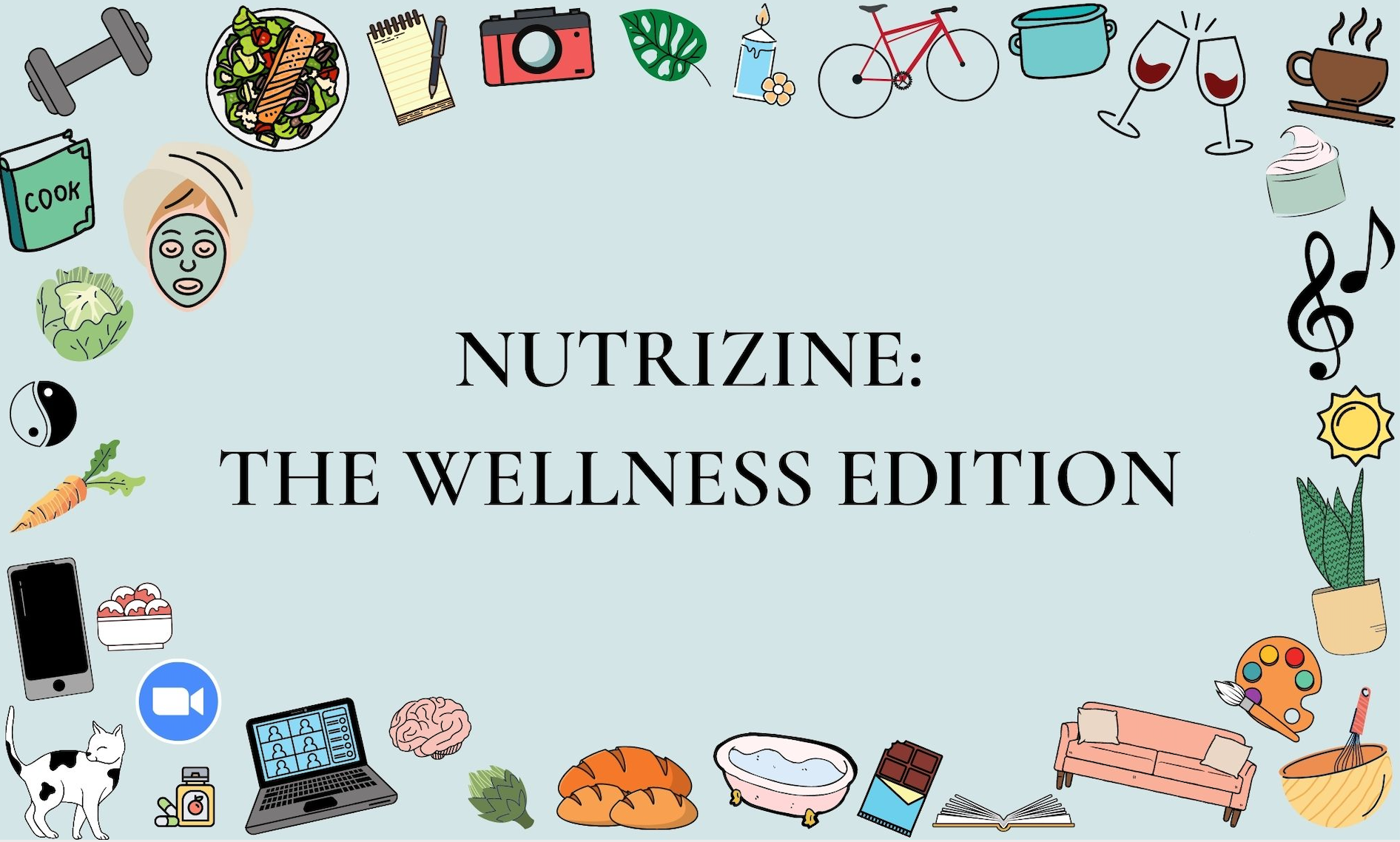 Photo of nutrizine wellness edition title page